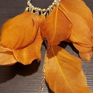 Orange charm pendant